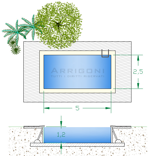 Prezzi pacchi kit fai da te piscine interrate for Piscine 5x5